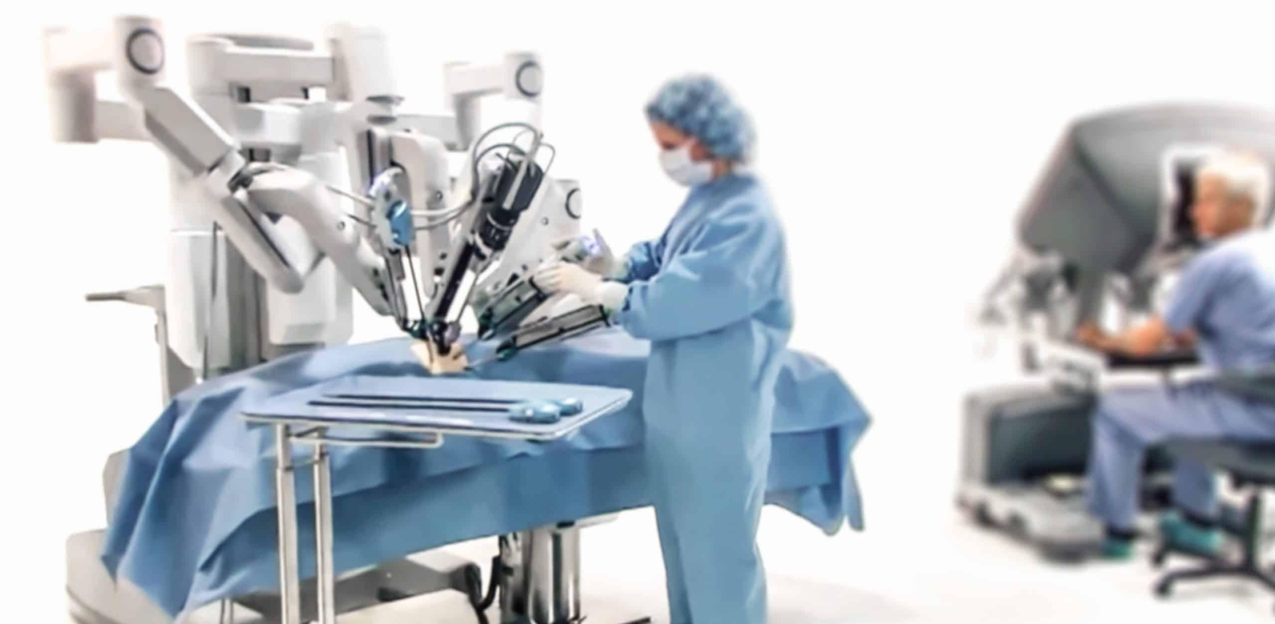 cirurgia robotica minimamente invasiva