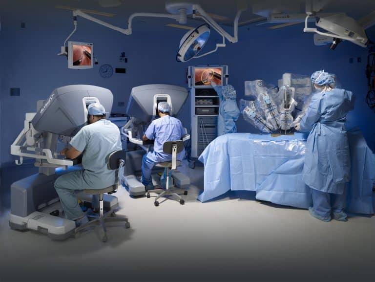 cirurgia robotica para cancer de prostata